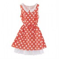 专柜代购巴拉巴拉2013夏新款童装女童雪纺连衣裙22112130210 价格:118.00