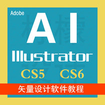 AI Adobe Illustrator CS5 6软件 激活永久使用 送教程+素材52G 价格:5.00