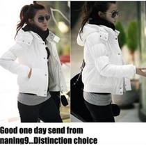 2013韩版新款秋冬装 大码女装短款加厚棉衣外套修身棉袄棉服 女 价格:58.00