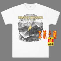 彩衫直喷街舞朋克Punk铁拳Imagine Dragons金属摇滚短袖纯棉T恤2 价格:78.00