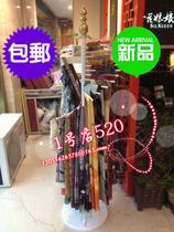 包邮铁艺围巾架 围巾丝巾展示架 围巾架子 落地架 皮带架 新款 价格:79.20