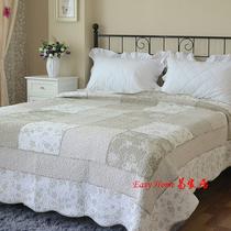 外贸尾单 欧式复古拼布绗缝被 床盖 大码全棉空调被 夏凉被 被子 价格:142.00