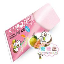 印尼smooze舒慕喜热带果茸冰 纯天然果汁肉椰汁粉红色番石榴冷饮 价格:4.20