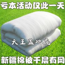 新疆长绒棉花被子定做棉絮被芯幼儿园床垫被褥子新疆棉被秋冬被厚 价格:27.00