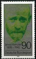 德国信销票 1978年医学教育家科尔萨克(科尔扎克)1枚全 价格:0.55