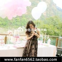 正品代购小辣椒3月25 Red Valentino 蕾丝立体花朵礼服 连衣裙 价格:2530.00