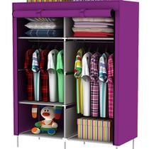 双人布衣柜简易衣服收纳储物柜加固钢管置物柜23省包邮送高架脚 价格:55.90