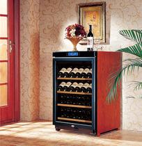 美晶 W150A 实木红酒柜 恒温酒柜 压缩机 葡萄酒柜 电子温控40瓶 价格:5800.00