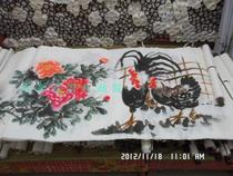 国画字画 花鸟 公鸡画芯 烤鸡店 专业国画 公鸡 GOGO LOU 价格:25.00