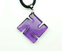 专柜S F Y 水晶吊坠 紫晶吊坠 紫水晶 万事发 多色可选 货号8501 价格:35.00