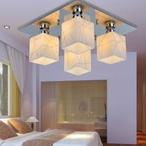 朗盛 现代简约拉丝玻璃灯客厅灯吸顶灯具餐厅灯卧室书房灯M9031-9 价格:255.00