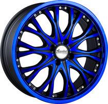 雅泛迪SK85轮毂 新款18寸5*114.3 蓝色/红色 车型 三菱翼神 正品 价格:1350.00
