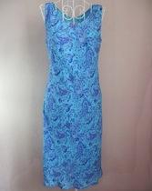 出口V领修身低腰无袖经典极品天蓝色连衣裙 女神裙 绝对惊艳 价格:328.00