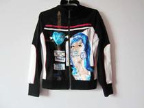 卡斯图KASHITU专柜正品custo2012新款春装女短款立领卫衣 价格:58.00