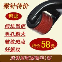 微针美容仪器 家用 祛豆坑滚针美容 配合冻干粉干冻粉导入 价格:48.00