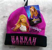 毛线针织帽 保暖帽 卡通帽 冬天帽 hannah montana 汉娜可爱儿童 价格:20.00