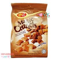 进口零食马来西亚WIN2威威夹心巧克力香兰味脆果 巧克力味脆果80g 价格:4.00