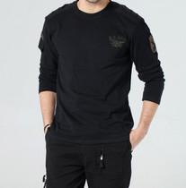 新款自由骑士男士户外T恤 海豹突击队纯棉长袖T恤6005圆领休闲T恤 价格:88.00