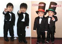 6件套男孩礼服男童礼服男花童装宝宝儿童西装儿童西服燕尾服套装 价格:99.00