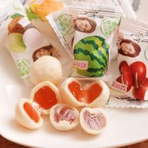 特价零食新货 好利源脆皮软糖鲜乳球喜糖果混合口味500克 3包包邮 价格:9.70