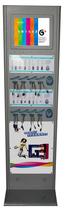 四钻 立式 手机充电站 手机加油站 酒店/超市/宾馆用应急充电器 价格:3000.00