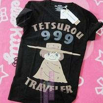 银河铁道/999 星野铁郎 动漫周边 T恤 松本零士 正版 吊牌全 原单 价格:48.80