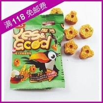 马来西亚进口 SKS椰谷 嚼嚼酥 迷你装 椰谷班兰味 11g 儿童最爱 价格:0.50