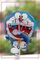《香港腾富机器猫专卖总店》多啦A梦叮当102011058亚克力弹簧钟 价格:38.00