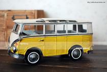 [限时折扣]风靡世界的面包_大众MICROBUS系列 纯手工复古铁皮车模 价格:119.99