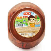 不二家棒棒糖 超大桶装 巧克力+奶茶(60支装) 2味混合 儿童食品 价格:32.00