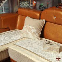 猛士美居欧式防滑皮沙发垫高档布艺毛绒时尚沙发坐垫垫子现代家居 价格:118.80