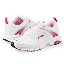 正品李宁女运动鞋2010央视广告款 女鞋运动鞋轻弓跑鞋ARHE028包邮 价格:99.00