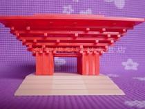 世博会中国馆立体3D塑料静态建筑益智DIY拼装模型套材直销可批发 价格:23.00