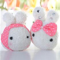 亏本清仓 !MW可爱兔子毛绒手机链 韩版情侣手机链 15g C623 价格:1.19