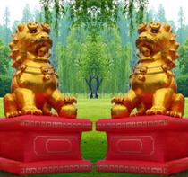 冲皇冠促销:新版金狮结婚庆典开业广告气模拱门婚庆用品彩虹门 价格:170.00