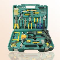 爆款!奥凯64件 多功能工具五金工具箱 家用工具套装组套 带电钻 价格:245.00