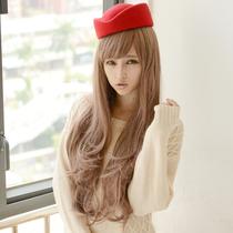罗安迪 斜刘海 时尚自然 空气卷假发长卷发蓬松时尚 新款哑光2230 价格:138.00