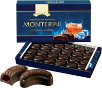 乌克兰原装进口 ROSHEN朗姆酒酒心 黑巧克力 礼盒 正品授权24粒装 价格:20.00