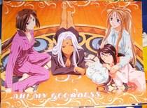 【买一送一】藤岛康介《我的女神》全员女神精美海报 价格:3.00