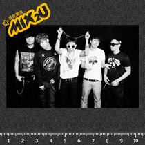 黑白简约风格Bigbang潮流人气组合贴纸车摩托滑板吉他随意贴A28z 价格:1.00