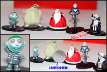 圣诞夜惊魂 超级迷你的JACK杰克5人物场景小公仔 价格:12.00