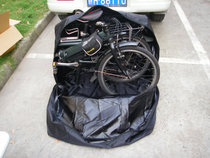 0.6公斤20寸折叠车装车包 拉链全开 DAHON大行 KHS BIRDY  欧亚马 价格:80.00