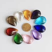 人造水晶中号28滴水天使泪吊坠 刻字玻璃吊坠单价0.36元每10个 价格:0.36