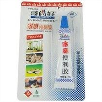 哥俩好 家庭便利胶 防火板胶 补胎胶 密度板粘接 纸盒胶水 10g 价格:3.00