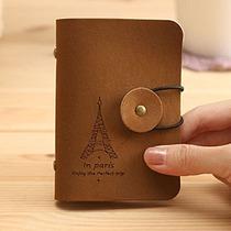 铁塔仿皮20卡位卡包 韩国新款潮包PVC卡套银行卡收纳整理包 价格:4.85