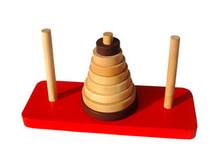 经典款汉诺塔 原木益智玩具 益智游戏 伤脑筋玩具 开发智力0.15 价格:3.90