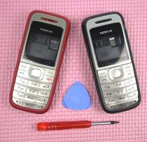 诺基亚1200外壳 台产1200全套手机外壳 可选优质按键盘 送工具 价格:16.00