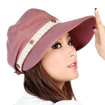 依鸽 女士遮阳帽子 骑车防晒女帽 夏天韩版凉帽 防紫外线太阳帽子 价格:47.00