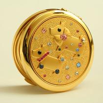 淘金币抵钱10%梵圣化妆镜 便携 随身小镜子 折叠双面 P米卡 包邮 价格:128.00