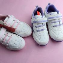 清仓童鞋品牌威威猫9205款女童儿童跑鞋白色运动鞋33 35码 价格:35.00